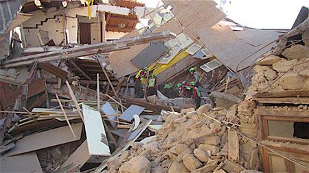 Torino Polizia Municipale Terremoto